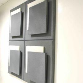 Acoustic panel Glissment 3D