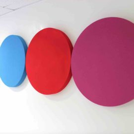Circulaire 600 acoustic panel