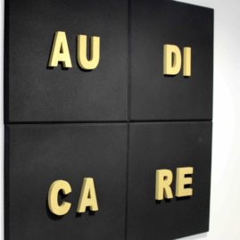 Lettres de Graces 3D acoustic panel