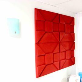 Reactor 3D acoustic panel