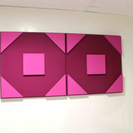 Octo Square 3D Bicolor acoustic panel