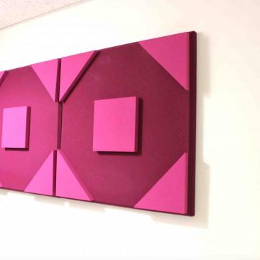 Octo Square 3D Bicolor acoustic panel