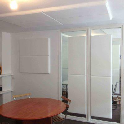 meladecor ceiling panel in Desk 1