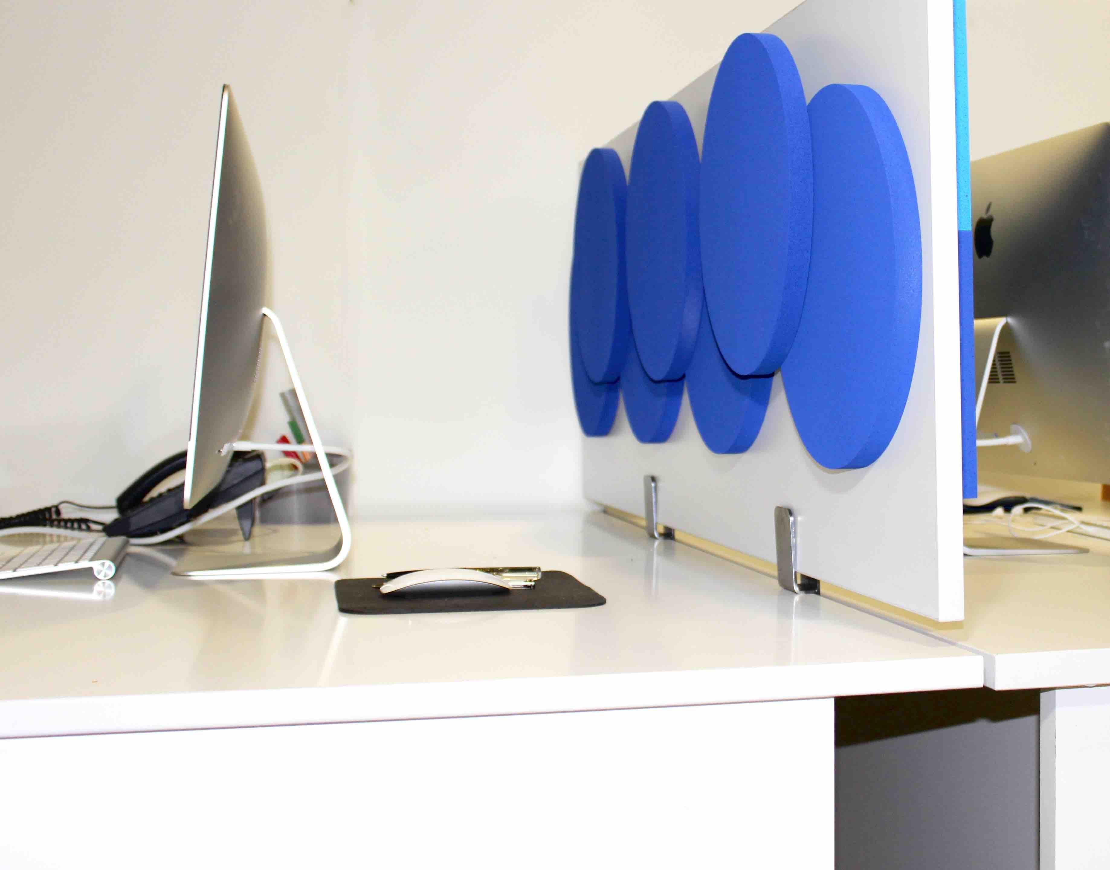 cloison acoustique olympic 3d recto verso sur bureau. Black Bedroom Furniture Sets. Home Design Ideas