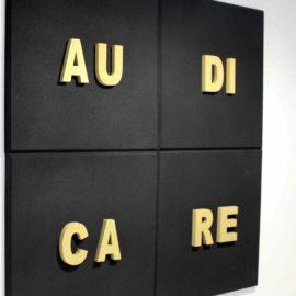 Panneau Acoustique Lettres de Grâce 3D