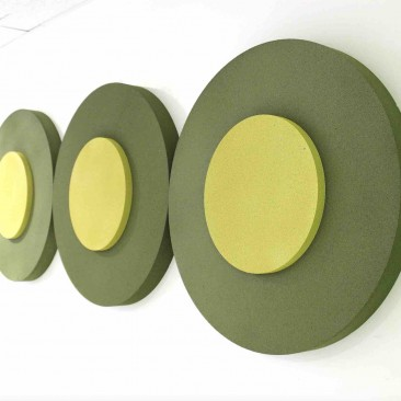 Panneau Acoustique Cercle in Circular 3D