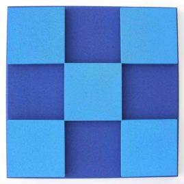 Panneau Acoustique 5 Square 3D Bicolor