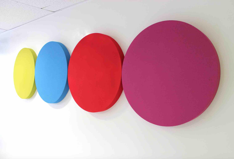 panneau acoustique circulaire 600. Black Bedroom Furniture Sets. Home Design Ideas