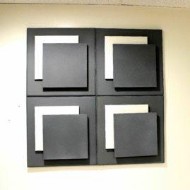 Panneau acoustique Glissement 3D