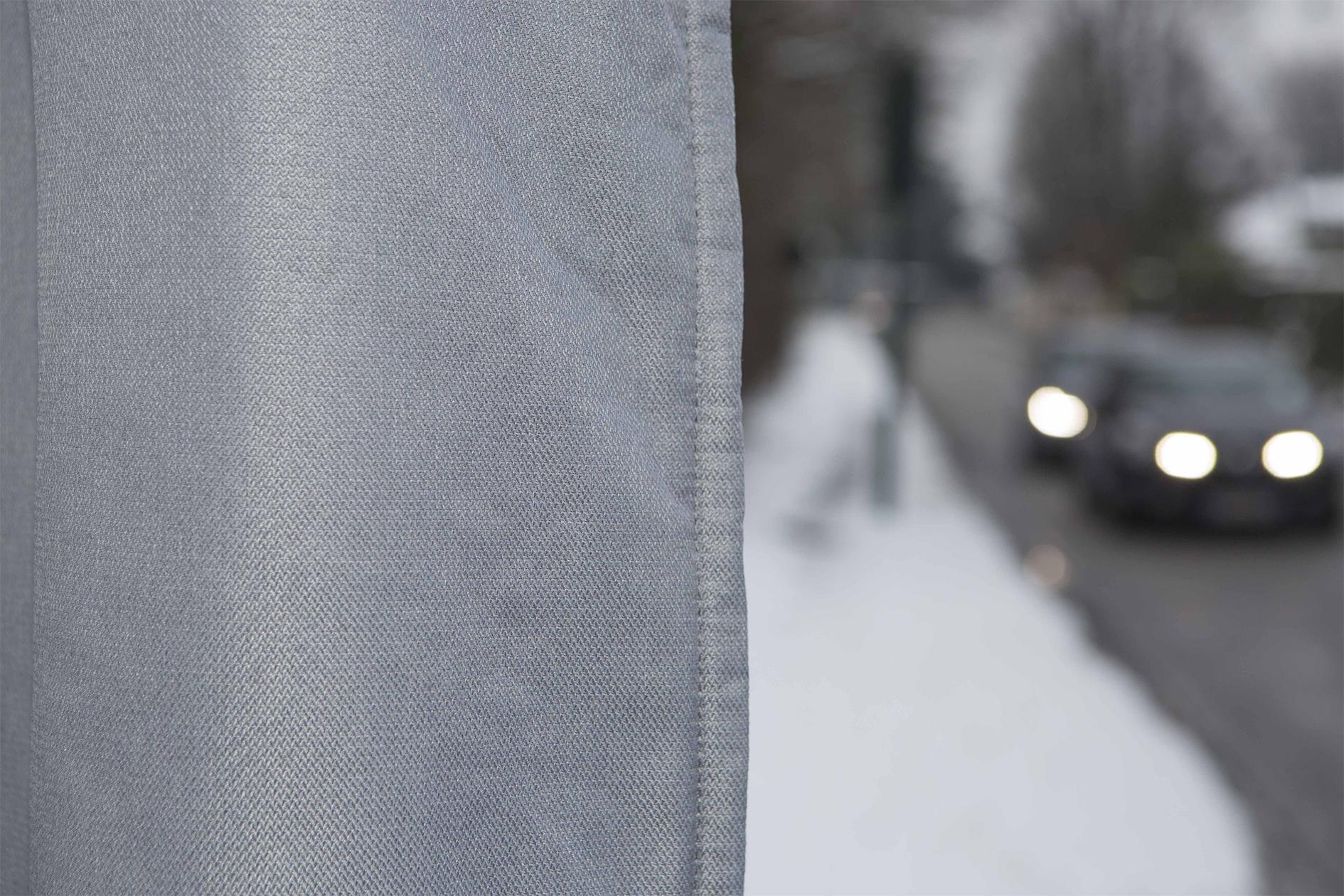 Blanc Cass/é RIDPHONIC Rideau Anti Bruit 15dB