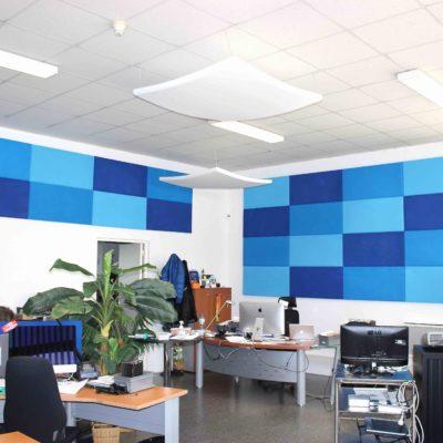 panneau 1000 500 bleu open space