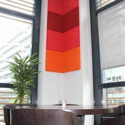 Panneau angle mur Restaurant